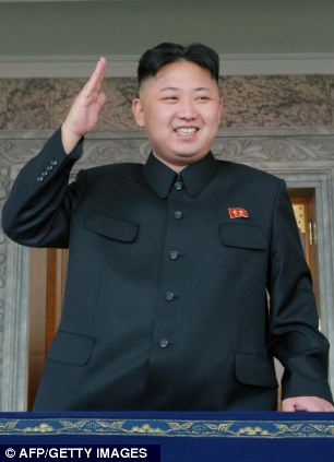 North Korean leader Kim Jong-Un, pictured. It is feared his next step might be a third nuclear test after a test facility was repaired