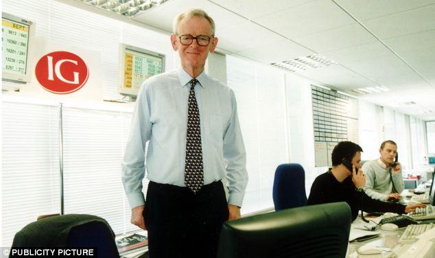 Much calmer: Spread betting tycoon Stuart Wheeler is UKIP treasurer