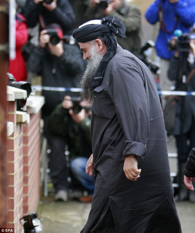 ENEMY OF THE BRITISH PUBLIC.The cleric has been freed on bail after a British court ruled he might not get a fair trial if deported to Jordan to face terrorism charges