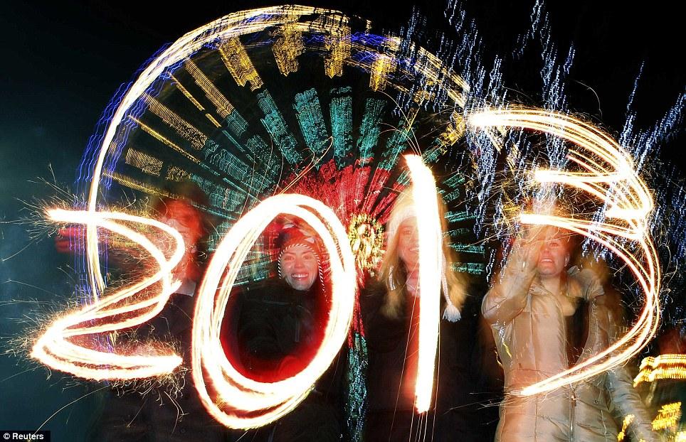 2013 New Year Celebrations.