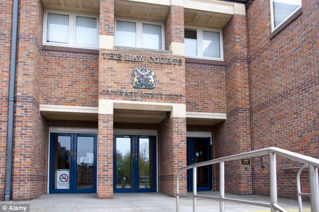 Almaraoui, 33, stole a student's laptop in the raid, Norwich Crown Court heard yesterday