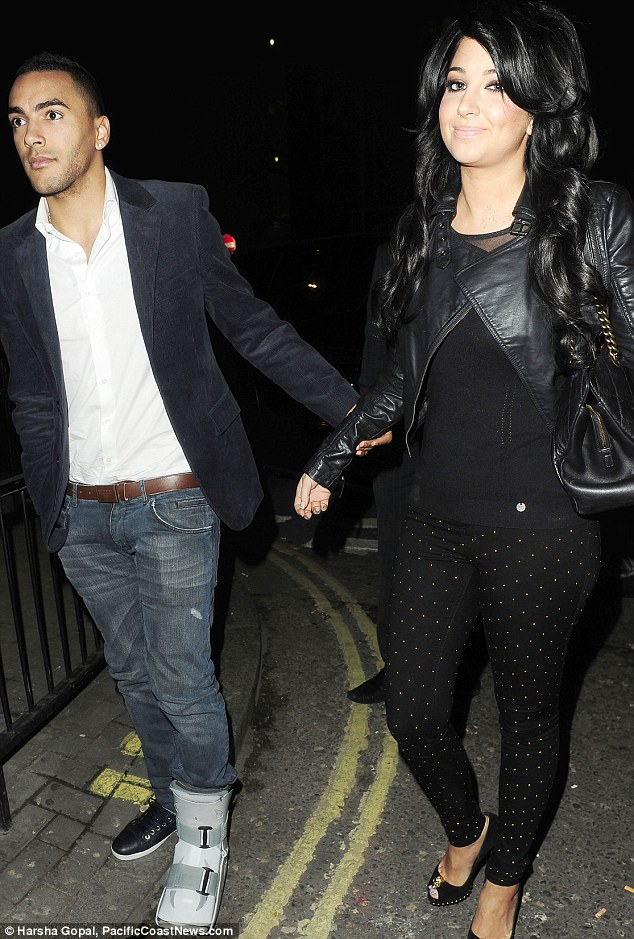 Closer than ever: Tulisa and Danny at a rather more glamorous event