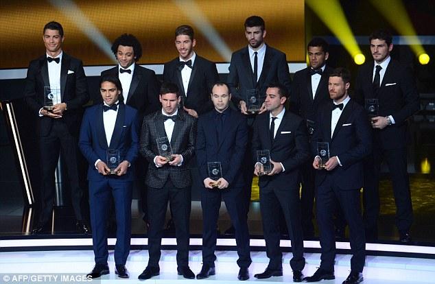 best La Liga footballers