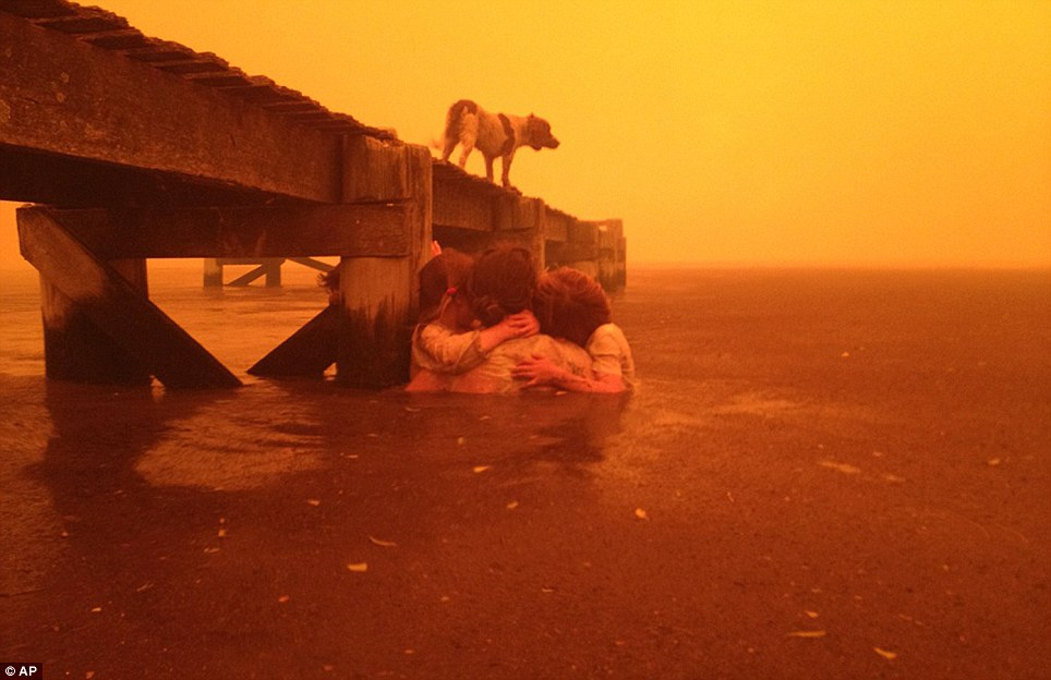 Wild Fire,Australia.