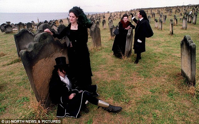 Goths who flocked to the graveyard because of its links to Dracula were banned from the churchyard in 2011