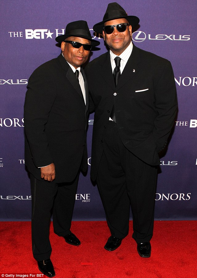 Suited and booted: Terry Lewis and Jimmy Jam