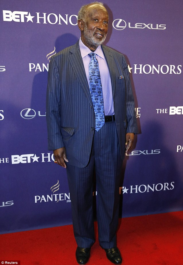Special guest: Honoree and music entrepreneur Clarence Avant graced the red carpet