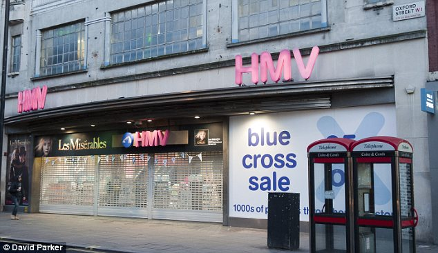 Sale: Customers will be hoping for bargains from the administration of HMV