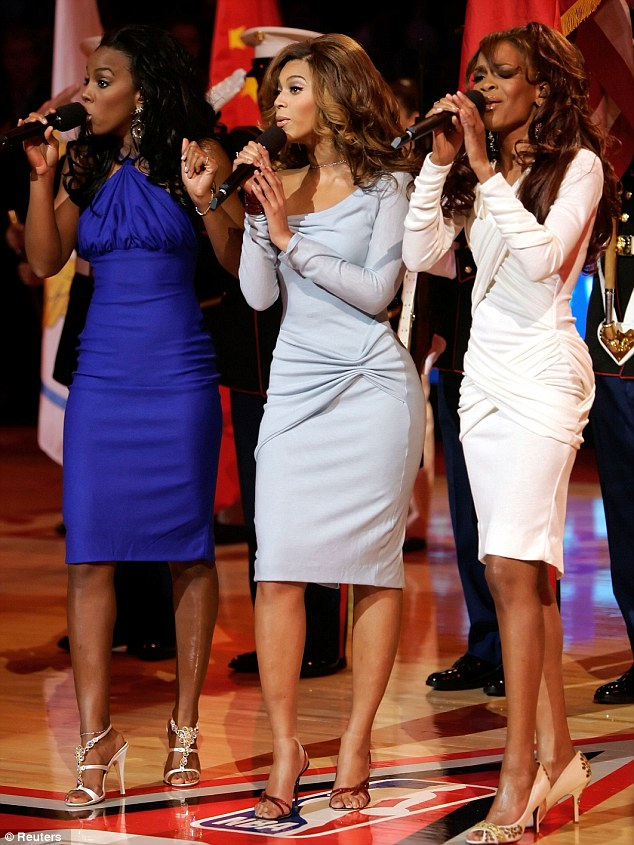 Repeating destiny: Destiny's Child are rumoured to be performing together for the first time since 2006 at the Superbowl