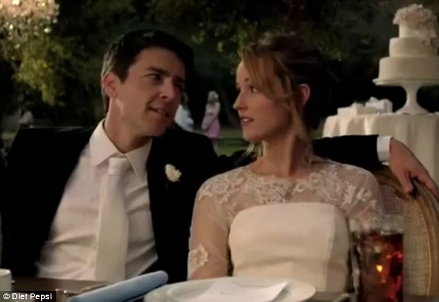 Bemused: After she had left the happy couple realised neither of them knew Sofia