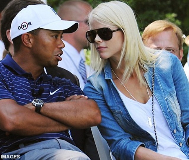 Close Couple Tiger Woods And Ex Wife Elin Nordegren During The Opening Ceremonies At