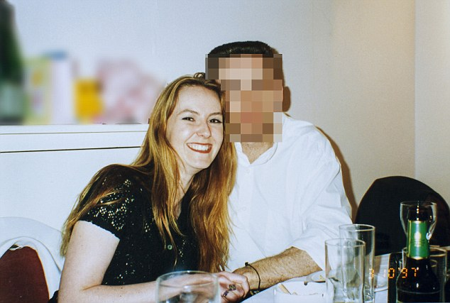 Happier times: Karen Cross with her former partner Matthew, who she thought was 'the one'