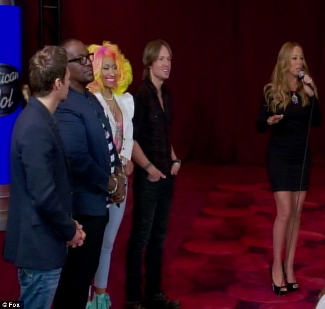 New York state of mind: The judges spent the first two days of auditions in the Big Apple and gave the hopefuls some words of encouragement