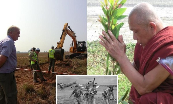 No Spitfires found buried in Burma after decades-long hunt ...