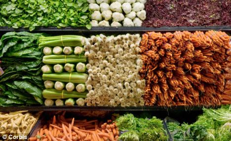 Scientists have discovered that optimistic folk have higher levels of plant compounds called carotenoids - found in orange produce and green, leafy vegetables - in their blood