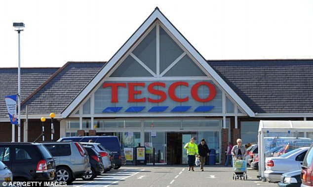 Trouble: The supermarket giant has found itself at the centre of an internet storm after a tweet posted in its Twitter account informed shoppers yesterday its staff were off to 'hit the hay'