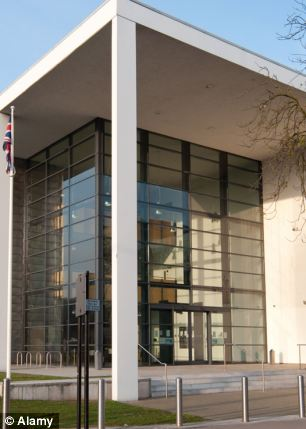 CMYKK6 Ipswich Crown Court, Suffolk, England.