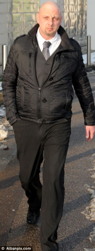 Trial: Steven Lock at Ipswich Crown court who was inspired by Fifty Shades of Grey