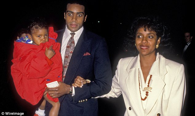 Former flame: Rashad, who has been married four times, is the former husband of Cosby Show actress Felicia Rashad