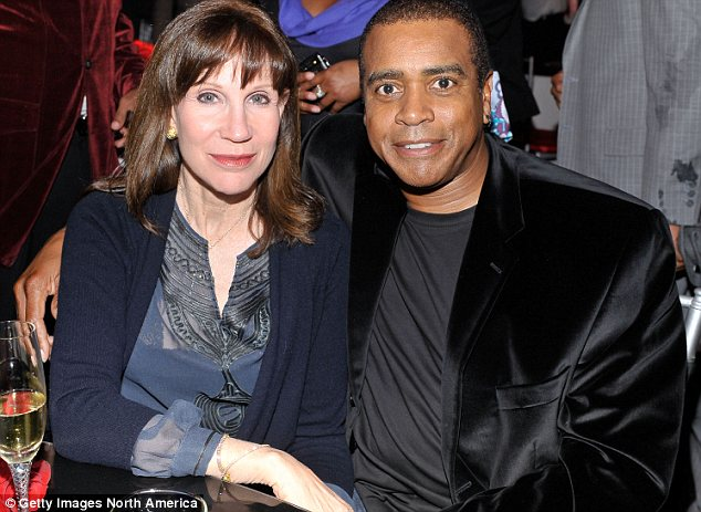 Trouble in paradise: Sale Johnson, pictured left, and sportscaster Ahmad Rashad, right, had been married since 2007 until reports emerged last week of a separation