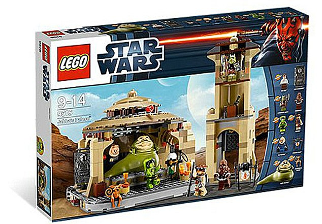 Toy: The Jabba's Palace Lego set has been criticised by the Turkish Cultural Community of Austria group, which has described it as offensive to the Muslim community