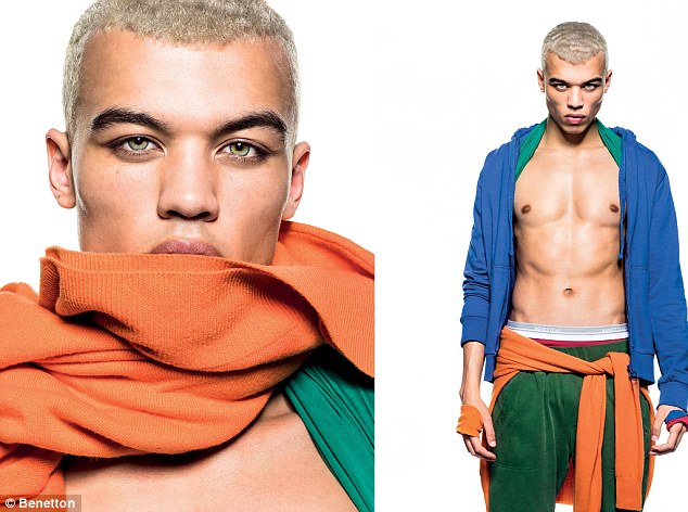 Rihanna's boy: Dudley O'Shaughnessy was hand-picked by Rihanna to be her on-screen lover in her We Found Love music video