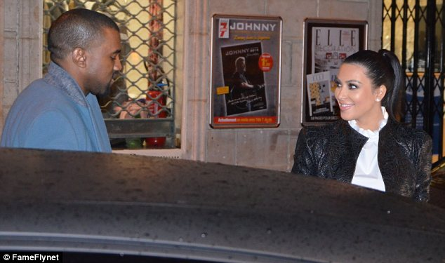 Soap opera: As their divorce proceedings cannot start until mid-June, technically Kim will still be married to Humphries when she is due to give birth (in July) to current boyfriend, Kanye West's baby