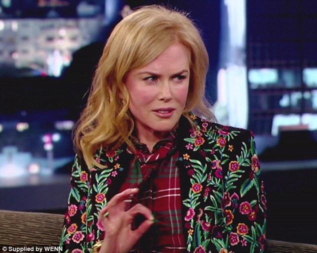 'He f****** sucks!' Nicole Kidman stopped by Jimmy Kimmel to be interviewed by her friend, Matt Damon who 'hijacked' the show