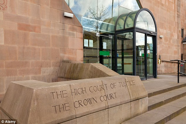 Sentenced: Rashid admitted at Nottingham Crown Court (pictured) that he had sex with a 13-year-old after she 'tempted' him