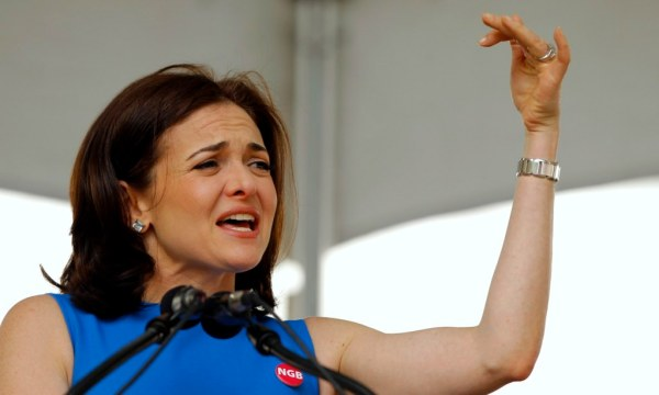Sheryl Sandberg: Firms SHOULD be allowed to ask female ...