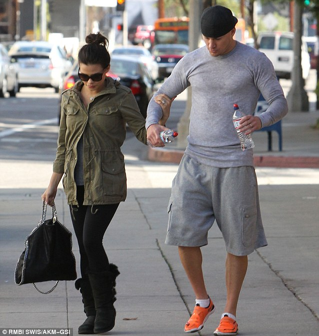 Channing Tatum Leaves The Gym With Pregnant Wife Jenna