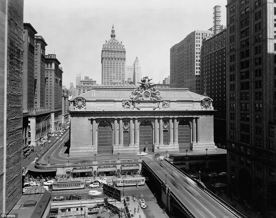 Grand Central Terminal, shown here around 1930, is one of New York's most iconic landmarks