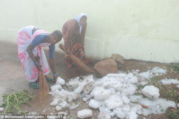 Nine people killed as freak hailstorm rains massive ...