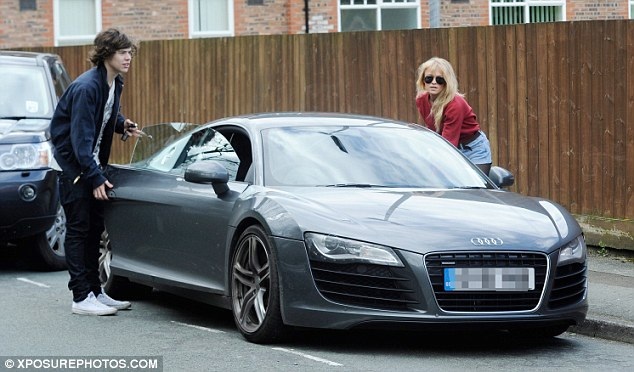 What will be next then? Harry already has an Audi R8 Coupe and a Range Rover in his collection