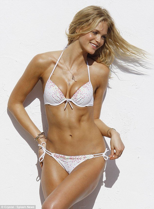 Victorias Secret Model Erin Heatherton Has An Unexpected