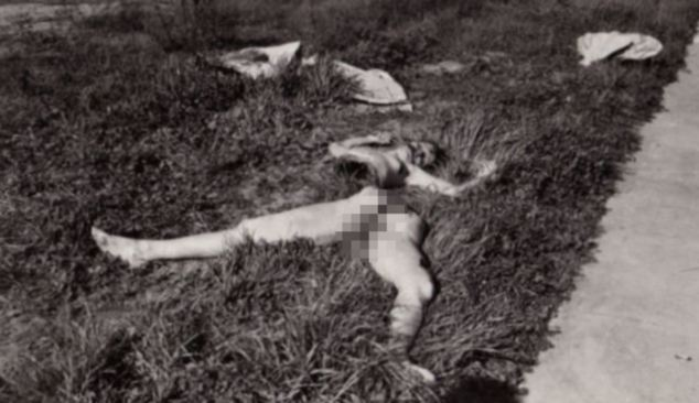 The body of Elizabeth Short had been severed at the waist and completely drained of blood, her face had also been slashed from the corners of her mouth toward her ears