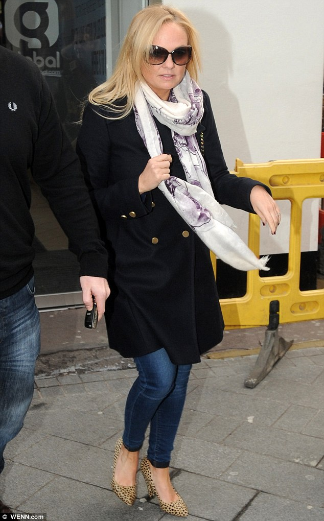'Devastated': Emma Bunton tweeted her sadness on Wednesday after discovering her beloved pet dog Phoebe had been found dead