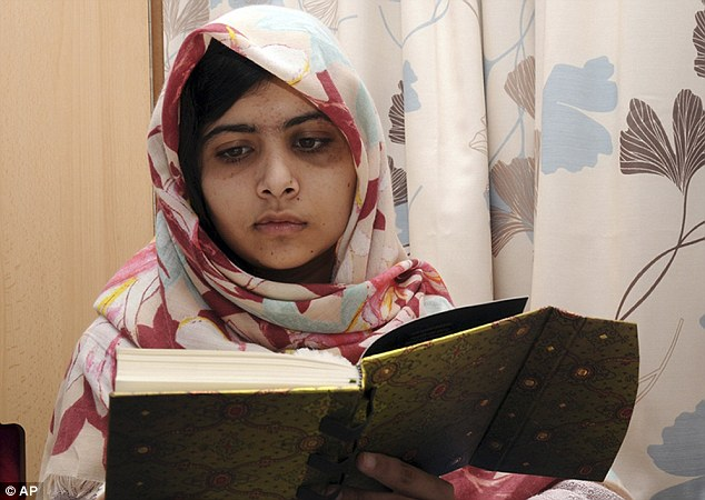 Malala Yousufzai has been discharged from hospital just five days after having a double operation to repair her skull which was shattered by a Taliban bullet