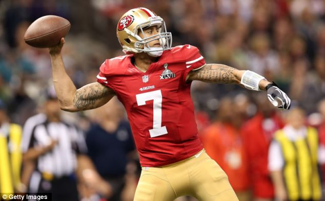 Image result for colin kaepernick playing