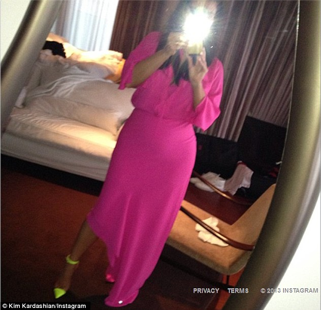 Oops! The pregnant star accidentally posted a picture with her rapper boyfriend's underwear in it