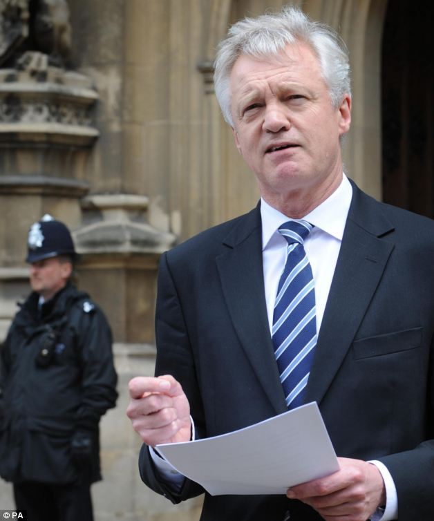 Former Shadow Home Secretary David Davis has warned about plans European super-spying agency