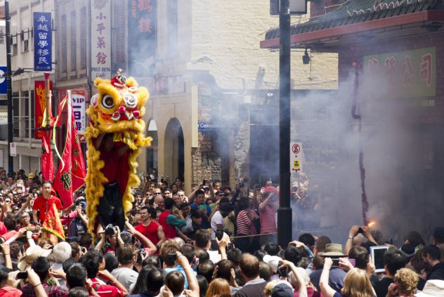 Around the world: The Year of the Snake celebrations in Melbourne, Australia