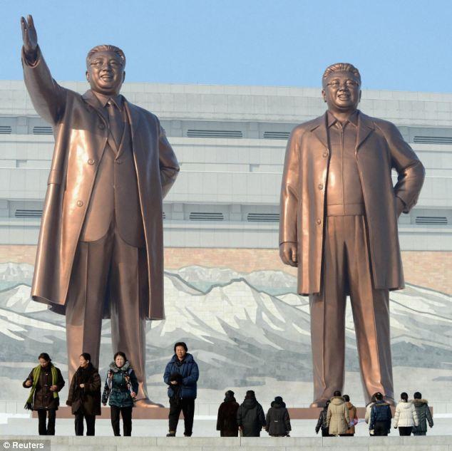 Image result for dear leader monument