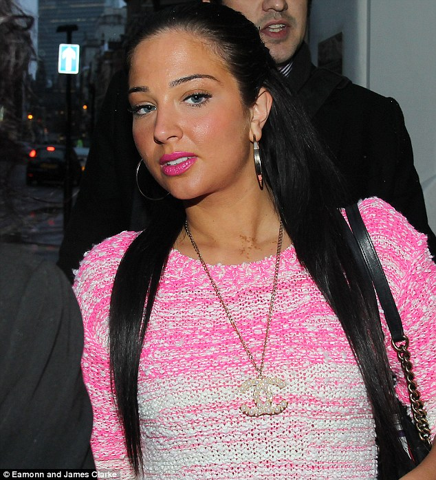Fight music: Tulisa is suing rapper will.i.am after claiming that she co-wrote his number one hit song Scream & Shout
