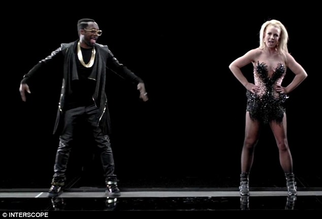 What could have been: Will.i.am and Britney scored a global hit with the track Tulisa claims to have co-written