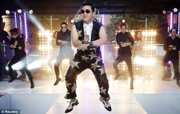 Brushing technique's have been choreographed to global sensation Psy's song