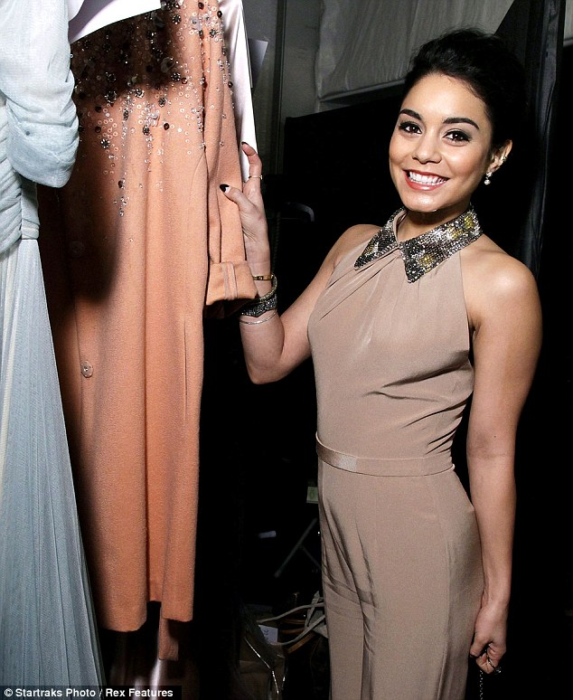 NYFW 4-ever: Vanessa has been making the rounds, one designer outfit at a time, for various shows during Mercedes-Benz Fashion Week at Lincoln Center