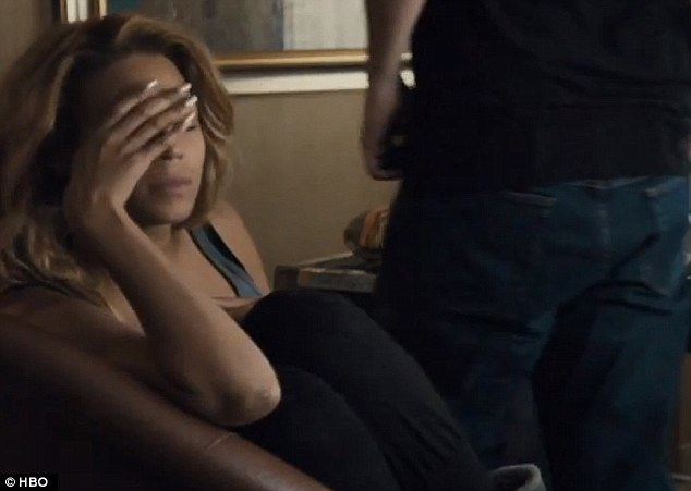 Tragic: In her documentary, Beyonce opens up about her heartbreaking miscarriage for the first time