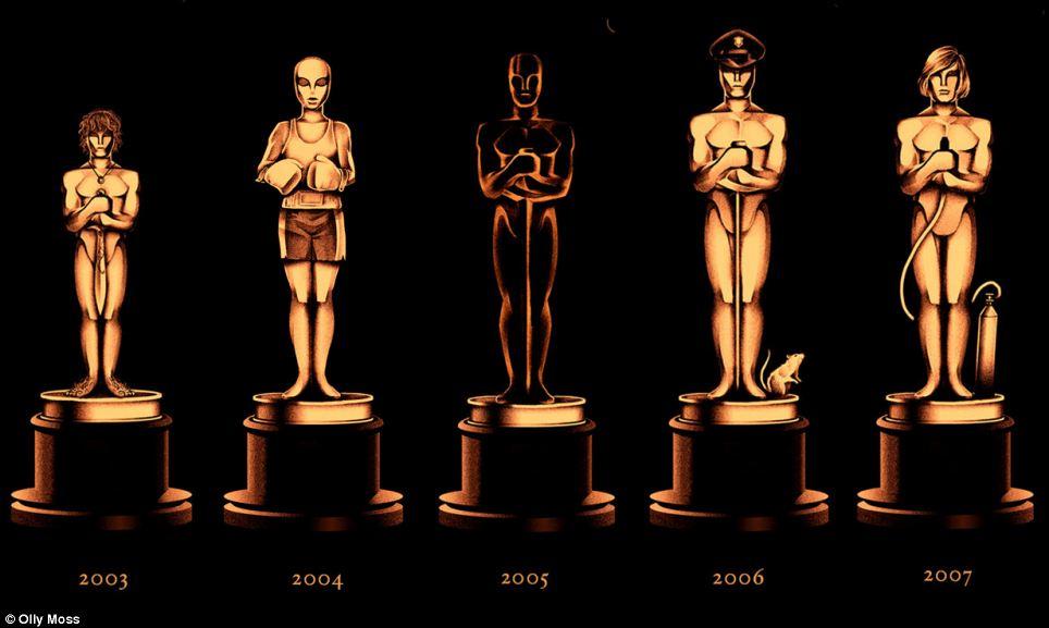 Winners 2003 to 2007: (l - r)