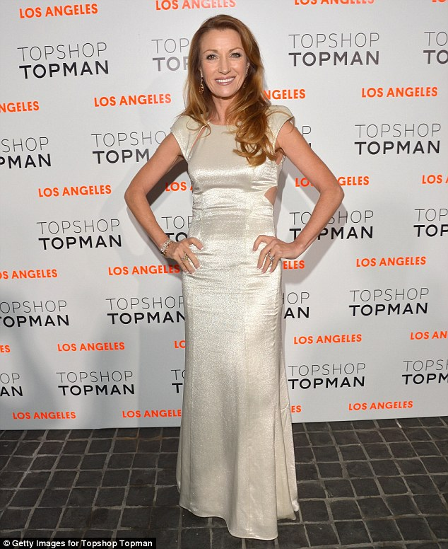 Is there a doctor in the house? Jane Seymour wore a glamorous floor length gown